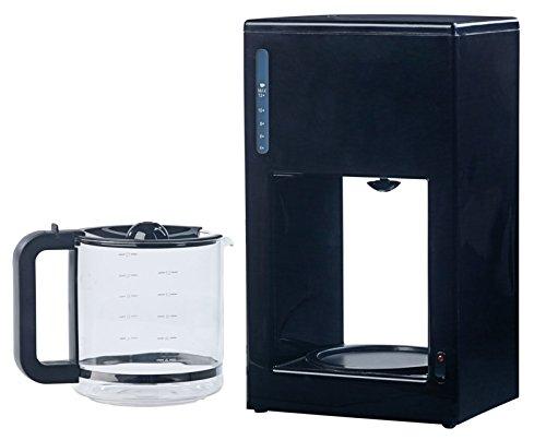 Rosenstein & Söhne Filterkaffeemaschine: Moderne Design-Kaffeemaschine für bis zu 12 Tassen, 1.000 Watt (Kaffeemaschine mit Glaskanne)