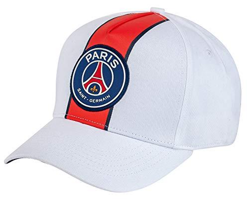 Paris Saint Germain - Gorra oficial del PSG, talla ajustable para adulto