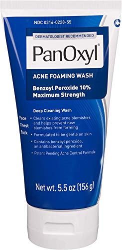 PanOxyl Acne Foaming Wash Benzoyl P…