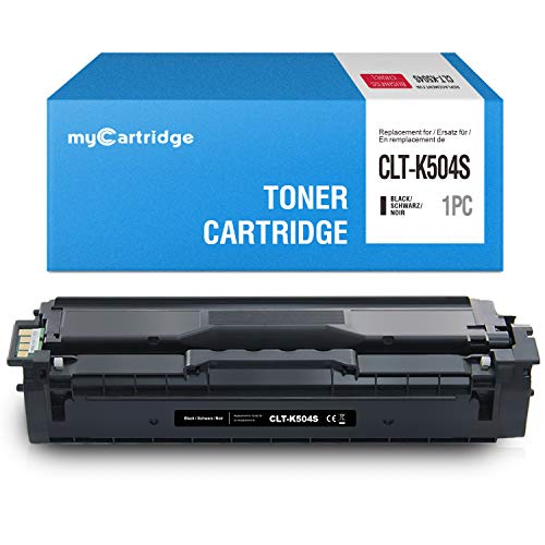MyCartridge kompatibel Samsung CLT-K504S Schwarz Toner für Samsung Xpress C1860FW C1810W CLX-4195FN CLX-4195FW CLX-4195N CLP-415N CLP-415NW