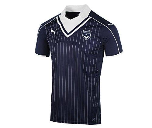 Puma Kinder Fussball Bordeaux Home Shirt 2016-17 Trikot Heimtrikot Blau - 7-8 Jahre