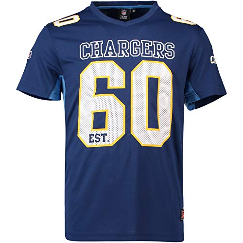 Majestic Athletic San Diego Chargers NFL Moro Poly Mesh Jersey Tee T-Shirt Trikot