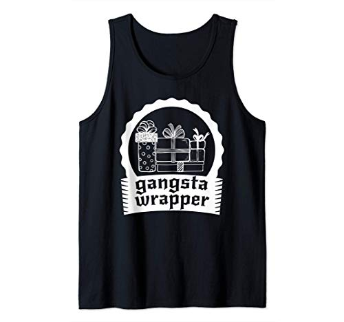 Gangsta Wrapper - Talentoso empaquetador de regalos Camiseta sin Mangas