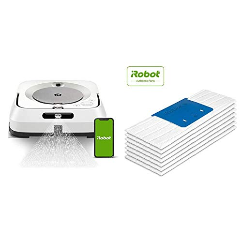 Amazing Deal iRobot Braava Jet M6 (6110) Ultimate Robot Mop and m Series Wet Mopping Pads, (7-Pack)