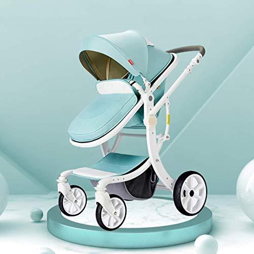 Funzione di Rotazione del Passeggino 360, Carrozzina della Carrozzina Hot Mom, seggiolino per Bambini del Sistema di Viaggio (Colore: Verde)