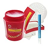 CONNOISSEURS Jewelry Cleaner Bundle for Gold, Silver, Diamonds and Precious Stones - Dip-in Cleaner Solution, Wipes and Dazzle Stik