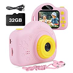 【Hold Kids' Long-term Attention】 The toy camera has multiple functions: Kids can take photos, make digital voice recordings, videos and play games. 6 different filter effects, 15 built-in photo frame effects making the most of their creativity with i...