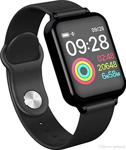 Relógio Inteligente SmartWatch Monitor Cardíaco Monitor Sono Pressão Sangue iOS Android BRANCO