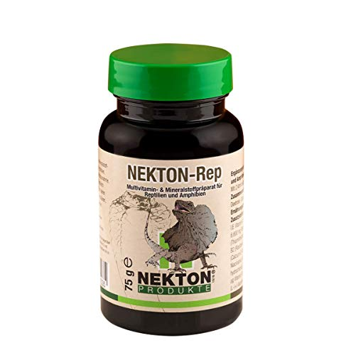 Nekton Rep Vitamin-Mineralstoff-Ergänzung für Reptilien und Amphibien (1 x 75 g)