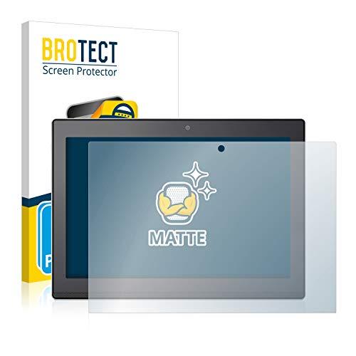 BROTECT 2X Entspiegelungs-Schutzfolie kompatibel mit Lenovo Miix 320 10 Bildschirmschutz-Folie Matt, Anti-Reflex, Anti-Fingerprint