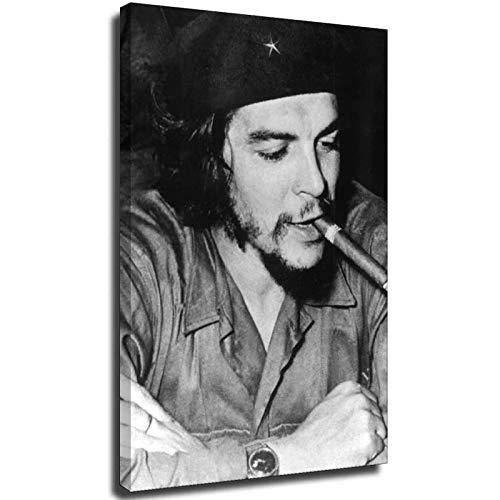 Che Guevara Impresión de lienzo personalizada Preparación de impresión personalizada pendiente de impresión de imagen Póster moderno para decoración de dormitorio en casa 28 × 40 pulgadas (70 × 1