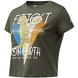 Reebok RC Fittest On Earth tee Camiseta, Mujer, popgrn, XS