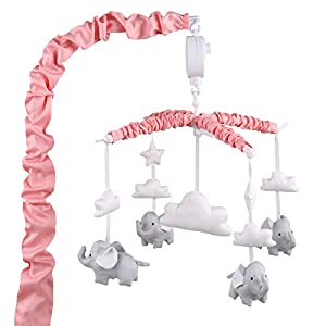 Wind up Musical Crib Mobiles by The Peanut Shell