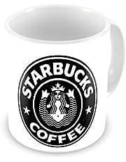 كوب مج للقهوة والشاي طباعة حرارية، ستاربكس