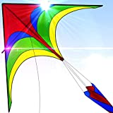 Easy To Fly Large Nylon Eagle Kite For Kids and Adults For Beach...
