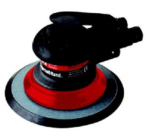 Ingersoll-Rand 4152 Composite 6-Inch Orbital Palm Pnuematic Sander with Pressure Sensitive Adhesive Pad