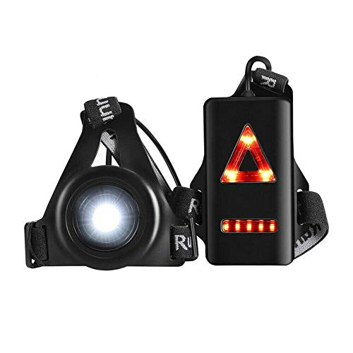 Running Lights Chest Lights for Rnners 3 Modes Body Torch USB Rechargeable...