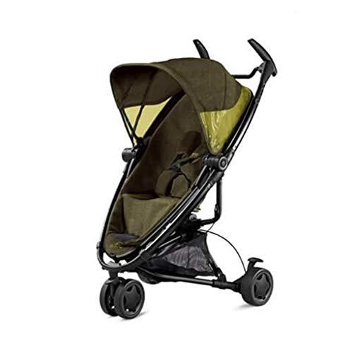 Quinny 8712930078401 Buggy mit viel Zubehör - sehr klein zusammenfaltbar, leicht und komfortabel, gelb