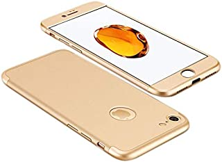 Apple iPhone 7 Case, fashion ultra Slim Gkk 360 Full Protection Cover Case - Gold