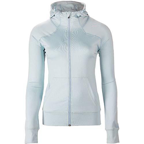 GORILLA WEAR Vici Jacket - hellblau - leichte Jacke mit Logo Aufdruck bequem zum Sport Alltag Freizeit Workout Training Atmungsaktiv aus Polyester Spandex mit Reissverschluss, L