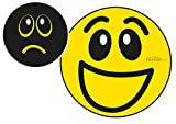 Effekt Aufkleber Sticker Urinal PEESIGN'weinender - lachender Smiley' Urinal Spiel