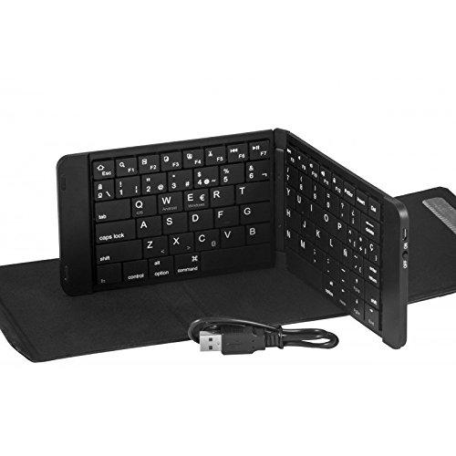 SILVERHT 111933340199 - Teclado Plegable Doble para Tablet