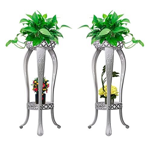 3-H Soporte de metal para plantas,Estante De Hierro Para Flores Soportes Para Exhibición Organizado