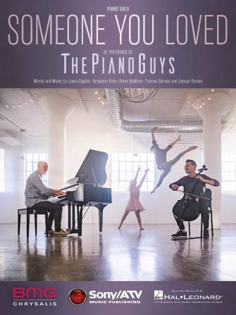 The Piano Guys, Lewis Capaldi - Someone You Loved - Sheet Music Single for Piano Solo