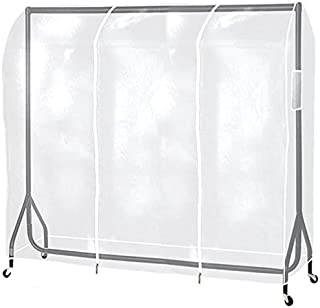 The Shopfitting Shop Housse de protection transparente pour portant 1,8m
