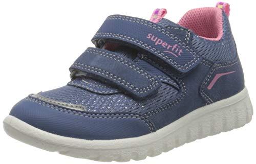 Superfit SPORT7 Mini Gore-TexSneaker Lauflernschuh, BLAU/ROSA 8020, 29 EU