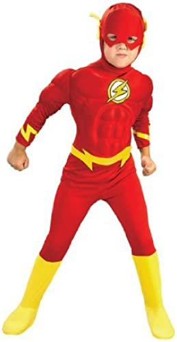 Deluxe Muscle Chest Flash Costume - Toddler by Unknown