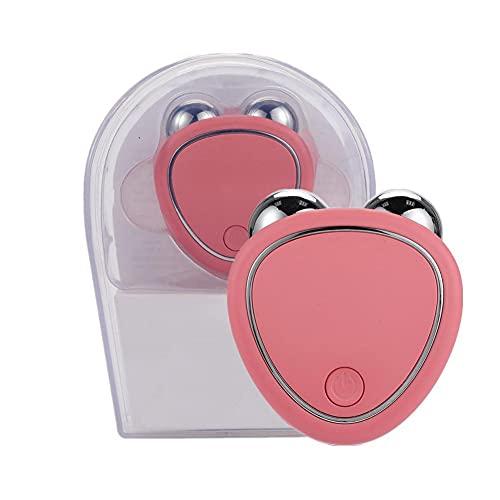 Lifting facial eléctrico Rodillo 3D Masajeador facial Microcorriente Lifting y reafirmante Instrumento belleza Eliminación arrugas Dispositivo cuidado piel Productos adelgazantes Masajeador