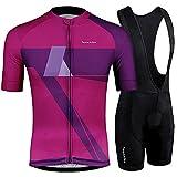 NHGFP QPM - Maillot de ciclismo de verano para bicicleta de montaña, color SET 04, tamaño medium