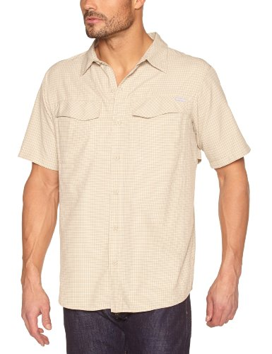 Columbia Silver Ridge Chemise homme Fossil Small Plaid FR : S (Taille Fabricant : S)