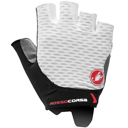 CASTELLI Rojo Corsa 2W Glove Guantes Ciclismo Mujer, Mujer,