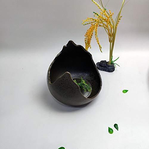 Specialty Restaurant Keramisch Bestek Set Perzik Vormige Snijkom + Bamboe Planken Gevormde Bowls Gepersonaliseerde Creatieve Servies