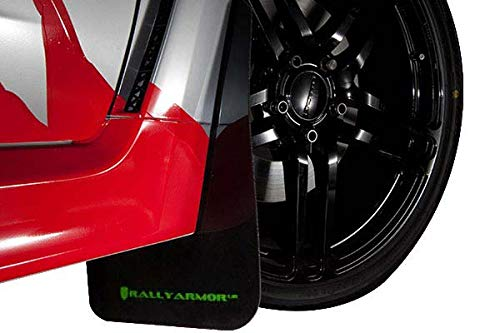 Rally Armor Black UR Mud Flaps w/Red Logo for 2016-2019 Honda Civic Si
