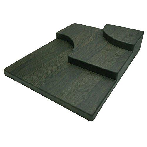 "Delfin Left Black Birch ABS Case Riser - 24""L x 30""W x 6""H"