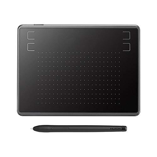 DAETNG Tableta gráfica, Tableta Dibujo Grande, retoque fotográfico, lápiz óptico sin batería de 4096 Niveles de presión, 4 Teclas de Acceso rápido para Pintar, boceto de creación de Arte Digital