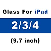 XLLXPZ GlassScreenプロテクターGlas強化フィルム、Apple iPad 2018 2017 5th 6th Air 1 2 mini 3 4 Pro 9.7 10.5A1822