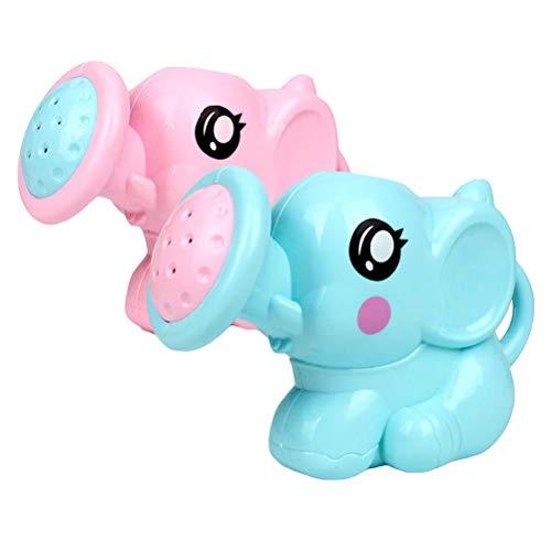 Toyvian Baño del bebé Juguete Elefante Aerosol Bomba de Agua Piscina baño bañera Juguetes