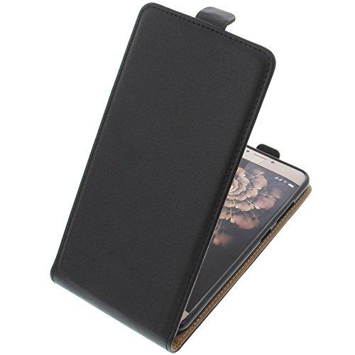 foto-kontor Tasche für Allview X3 Soul Plus Smartphone Flipstyle Schutz Hülle schwarz