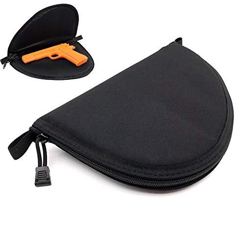 BAPDSB Tactical Hand Gun Bag Tragbare Schwarze Revolver Airsoft Rug Gun Carry Holster Aufbewahrungskoffer für alle kompakten Subcompact Pistolen