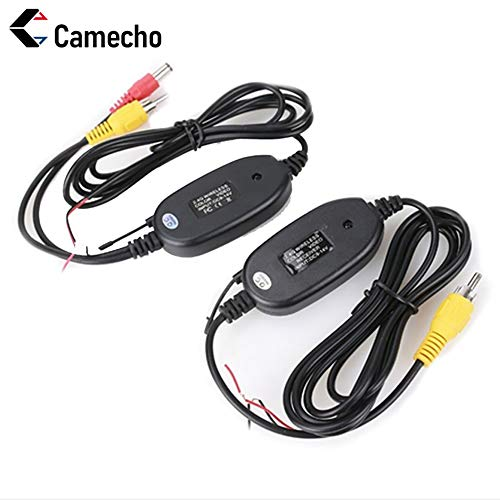 Camecho NEW 2.4G Wireless Color Video Transmitter and Receiver for The Vehicle Backup Camera Front Car Camera backup camera new rv