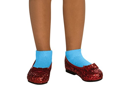 Rubies Wizard of Oz Dorothy Child s Deluxe Sequin Shoes  Small