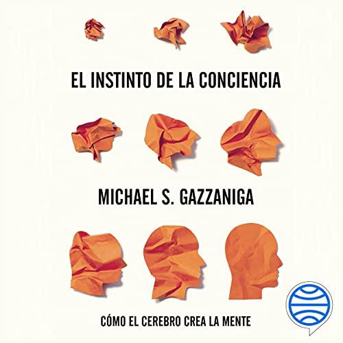 Diseño de la portada del título El instinto de la conciencia