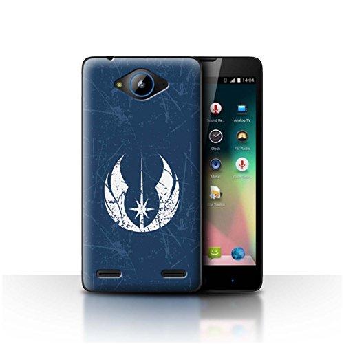 Hülle Für ZTE Blade L3 Plus Galaktisches Symbol Kunst Jedi-Befehl Inspiriert Design Transparent Ultra Dünn Klar Hart Schutz Handyhülle Hülle