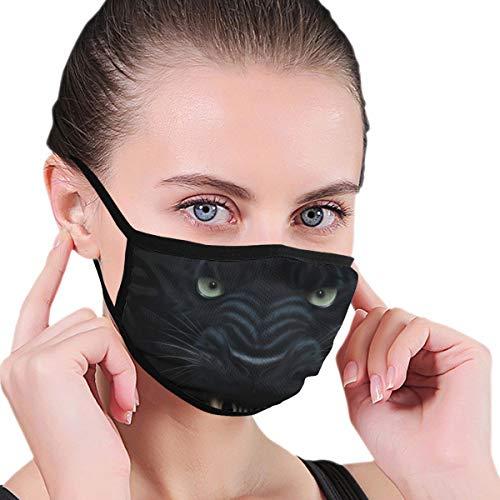 Pizza plakjes Unisex Winddicht Anti Anti Vervuiling Ademend Herbruikbaar Masker Eén maat Panters