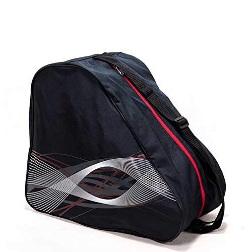 MOSINITTY Outdoor Universal Skischuhtasche Herren und Damen Skischuhe und Snowboardstiefel Schultertasche Tragbare Outdoor Skischuhe und Helmtasche (Schwarz)