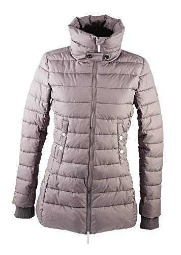 PFIFF Damen Winter- Angourie- Steppjacke Jacke, grau, S